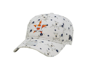 New Era MLB 9Twenty Adjustable Houston Astros Blossom White Women Cap