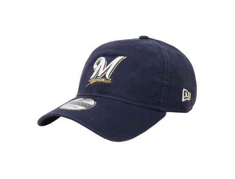 New Era MLB 9Twenty Adjustable Milwaukee Brewers Navy Men Cap