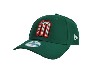 New Era 9Forty World Baseball Classic Mexico Green/Green Men Cap