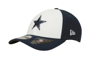 7e60676a2 New Era Cap 9Forty Dallas Cowboys The League White Navy Men Hat