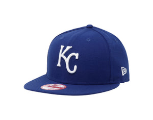 New Era 9Fifty Kansas City Royals Baycik Royal/Royal Men Adjustable SnapBack Cap