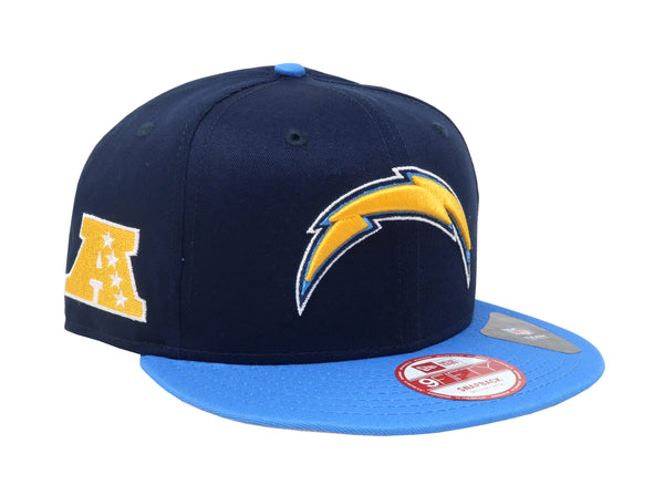 New Era 9Fifty Los Angeles Chargers Baycik Navy/Gold Men Adjustable SnapBack Cap