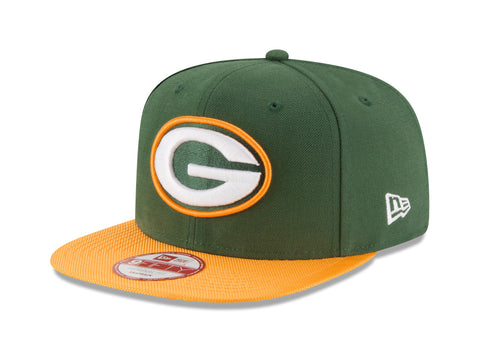 New Era 9Fifty Green Bay Packers TM Green/Green Men Adjustable SnapBack Cap