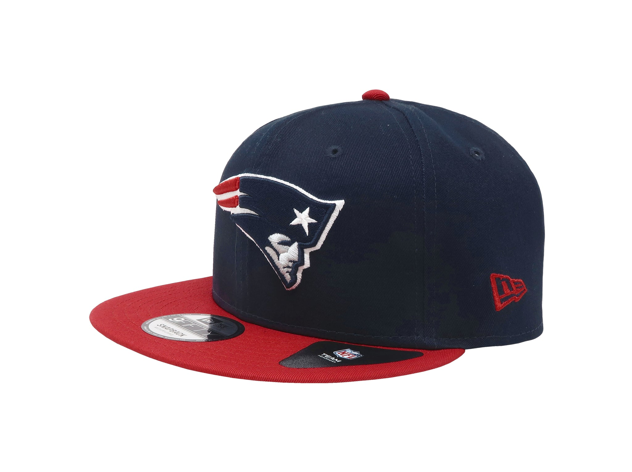New Era 9Fifty New England Patriots Baycik Navy/Red Men Adjustable SnapBack Cap
