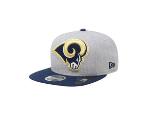 New Era 9Fifty Los Angeles Rams Light Gray/Navy Men Adjustable SnapBack Cap
