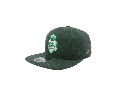 New Era 9Fifty Santos Laguna Soccer Club Green/Green Men Adjustable SnapBack Cap