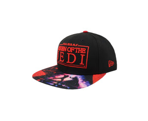 New Era 9Fifty Star Wars Jedi Black/Red Men Adjustable SnapBack Cap