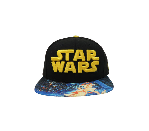 New Era 9Fifty Star Wars Black/Blue Men Adjustable SnapBack Cap