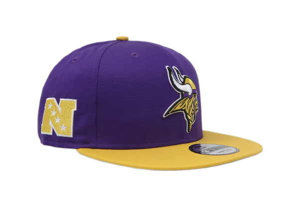 New Era 9Fifty Minnesota Vikings Baycik Purple/Gold Men Adjustable SnapBack Cap
