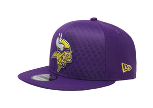 New Era 9Fifty Minnesota Vikings Rush17 Purple/Purple Men Adjustable SnapBack Cap