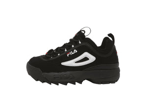 Fila Disruptor II Black/White Big Kids Shoes