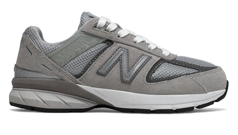 New Balance 990 Grey/White Youth Shoes