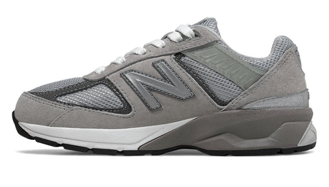 New Balance 990 Grey/White Big Kids Shoes
