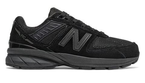 New Balance 990 Black/Black Youth Shoes