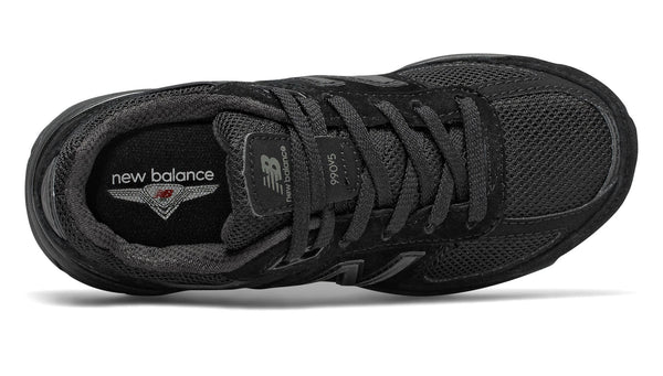 New Balance 990 Black/Black Big Kids Shoes
