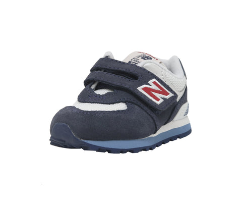 New Balance 574 Navy/White Toddler Shoes