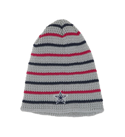 Dallas Cowboys Grey/Navy Womens Beanie One Size