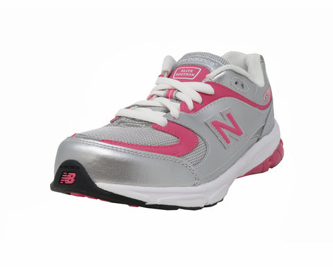New Balance 2001 Gray/Pink Big Kids Shoes