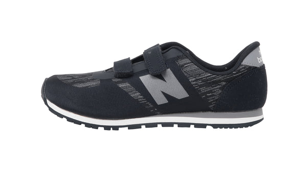 New Balance 420 Navy/White Strap-On Little Kids Shoes