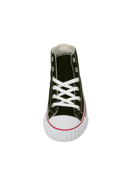Pf-Flyers Black/White Center Hi Kids Shoes