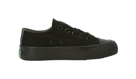 Pf-Flyers Black Center Low Top Kids Shoes