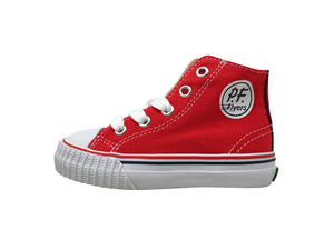 Pf-Flyers Core Hi Red Infant/Toddler Shoes