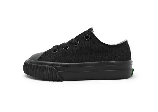 Pf-Flyers Black Core Low Infant/Toddler Shoes