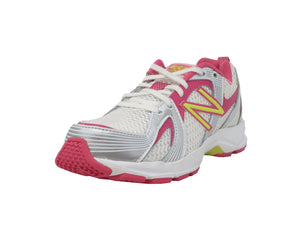 New Balance 554 Pink/White Kids Shoes