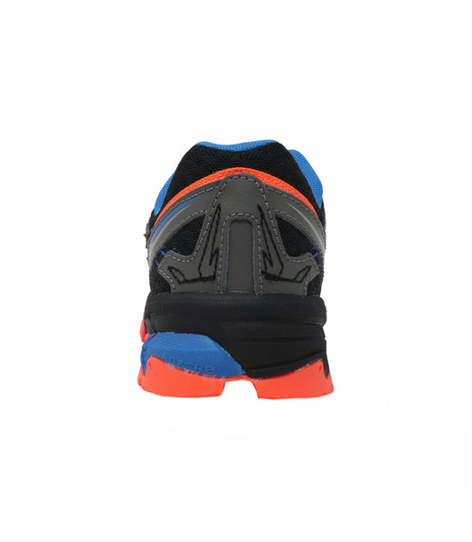 New Balance 610 Grey/Orange Little Kids Shoes