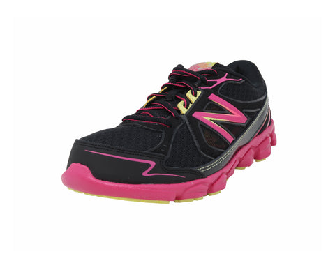 New Balance 750v3 Black/Pink Youth Shoes
