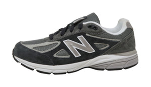 New Balance 990 Charcoal Gunmetal/Grey Youth Shoes