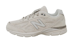 New Balance 990 White/Grey Big Kids Shoes