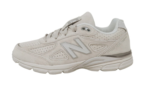 New Balance 990 White/Grey Big Youth Shoes