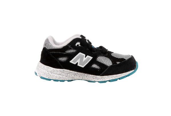 New Balance 990 Black/Grey Toddler Shoes