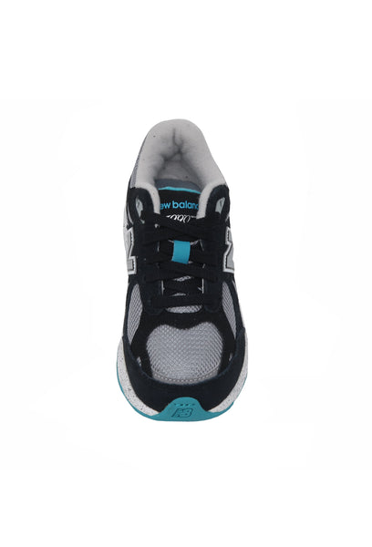 New Balance 990 Black/Turquoise/Gray Kids Shoes