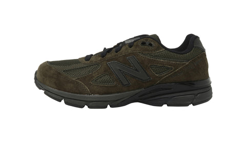 New Balance 990 Black /Olive Youth Shoes