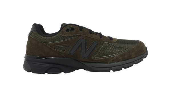 New Balance 990 Black/Olive Big Kids Shoes