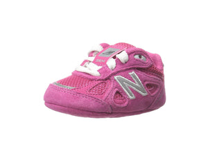 New Balance 990 Wide Pink/White Crib Shoes