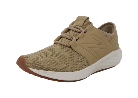 New Balance Cruz Tan/Beige Big Kids Shoes