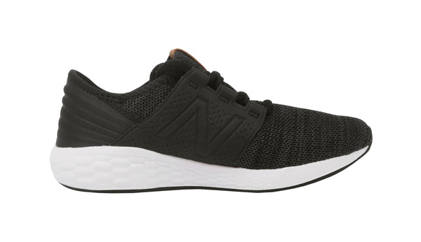New Balance CRZ Charcoal/Black Youth Shoes