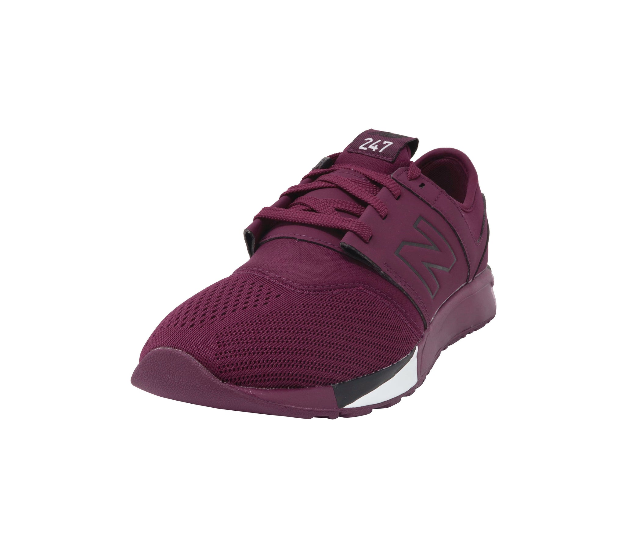 New Balance 247 Burgundy/Black Youth Shoes