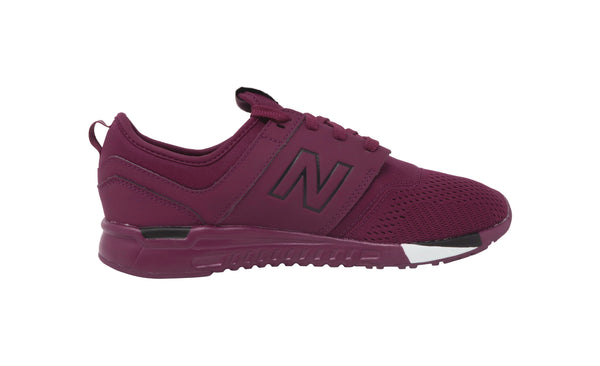 New Balance 247 Burgundy/Black Big Kids Shoes