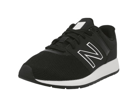 New Balance 24 Black/White Youth Shoes