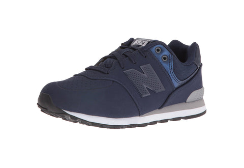 New Balance 574 Navy/White Youth Shoes