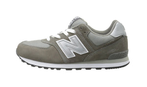 New Balance 574 White/Grey Youth Shoes