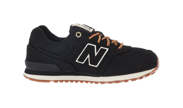 New Balance 574 Black/Beige Youth Shoes