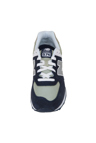 New Balance 574 Navy/Beige/White Youth Shoes