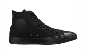 Converse All Star Black Mono Hi Top Men Shoes