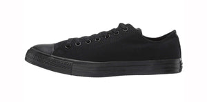 Converse All Star Black Mono Low Top Men Shoes