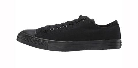 Converse All Star Black Mono Low Top Unisex Shoes